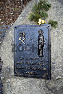 Ehrenmal auf der Halde Duhamel, Ensdorf/Saar