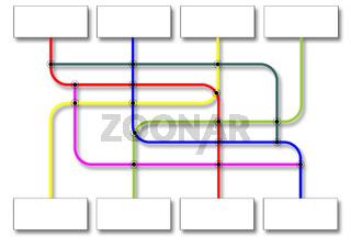 Orga-Plan als Flowchart