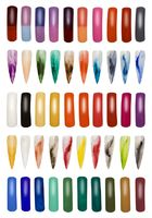 Collection of Finger Nails Cutout