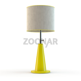 yellow modern lamp