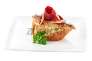 Appetizer of melva