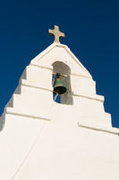 The Church of Panagia Paraportiani, Mykonos Island, Greece