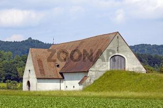 Kornscheune bei Diessenhofen, Schweiz