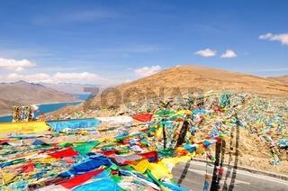 Kampa La Pass  Tibet China