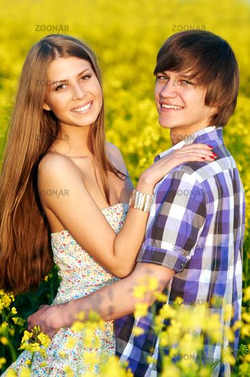Фото пара молодая