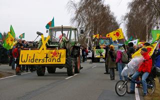 Anti-Atom-Protestaktion, Dannenberg, Gorleben, November 2011