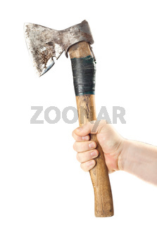 Hand old axe