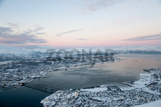 Panoramic view of Tromso