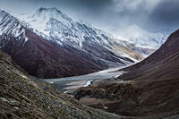 Severe mountains - Spiti valley
