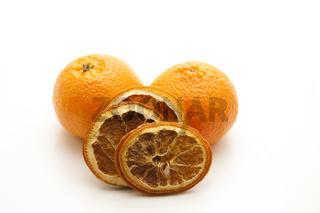 Orangen mit Zitrone