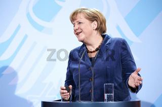 Merkel meets Irish PM Enda Kenny
