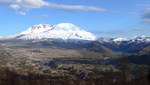 Mt. St. Helen's  Spirit lake panorama, Washington state.