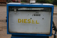 Dieselzapfsäule