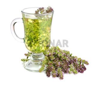 Tea with thyme