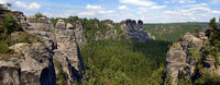 Panorama Sächsische Schweiz