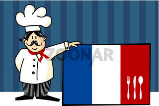Chef of french cuisine