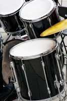 Drums in use