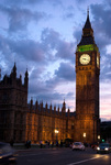 Big Ben at sunset London UK