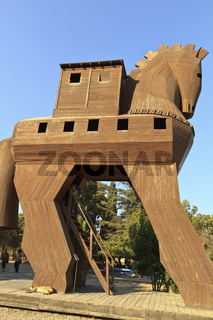 Turkey Troy The Wooden Horse