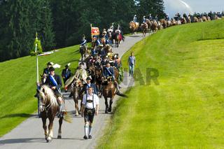 Katholische Pferdeprozession