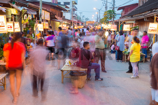 Rim Yom Night Market Sukhothai