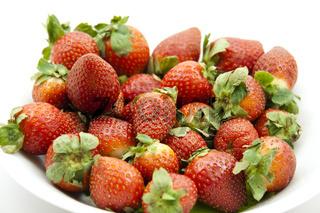Erdbeeren in der Schüssel