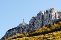 Chiemsee Kampenwand Gipfelkreuz