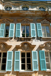 Fassade der  Casa Camuzzi