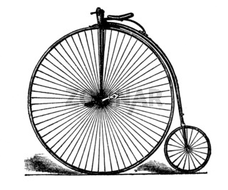 Bicycle von 1885