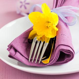 Gedeck zu Ostern