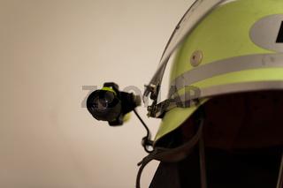 Feuerwehr Feuerwehrhelm mit Lampe