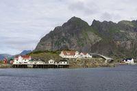 Brücke nach Henningsvaer