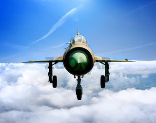 Jet plane MiG