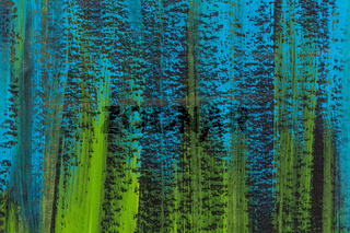 blue, green, black abstract