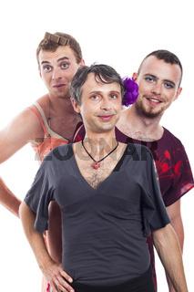 Transvestites portrait