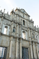 ruins of St. Paul's Cathedral in Macau