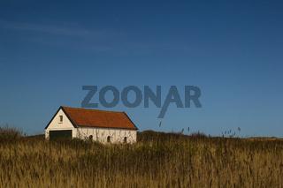Alte Seenotrettungsstation auf Spiekeroog