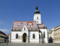 Church of St Mark Zagreb Croatia