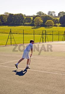 Tennis - Overhead Smash