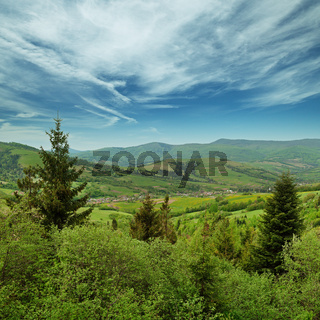 Landscape - Carpathians mountains, Ukraine