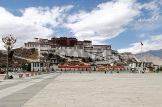 Potala-Palast Lhasa Tibet