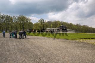Besucher des KZ Buchenwaldes