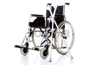 Invalid chair, wheelchair and crutches-