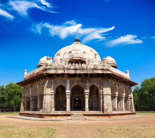 Isa Khan Tomb in Humayun's Tomb Complex. Delhi