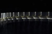 Kreisel, stroboskopische Aufnahme