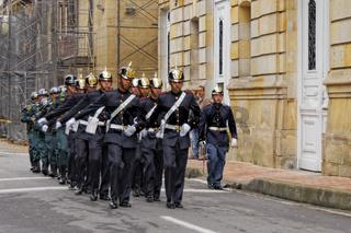 Präsidentengarde, Bogotá, Kolumbien