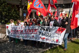 Demonstrationszug DGB