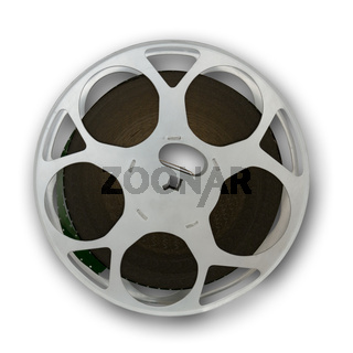 Film reel with a small shadow