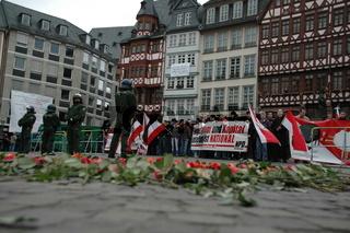 NPD Kundgebung,Frankfurt
