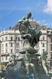 Donnerbrunnen, Wien, Österreich | Providentia Fountain, Vienna